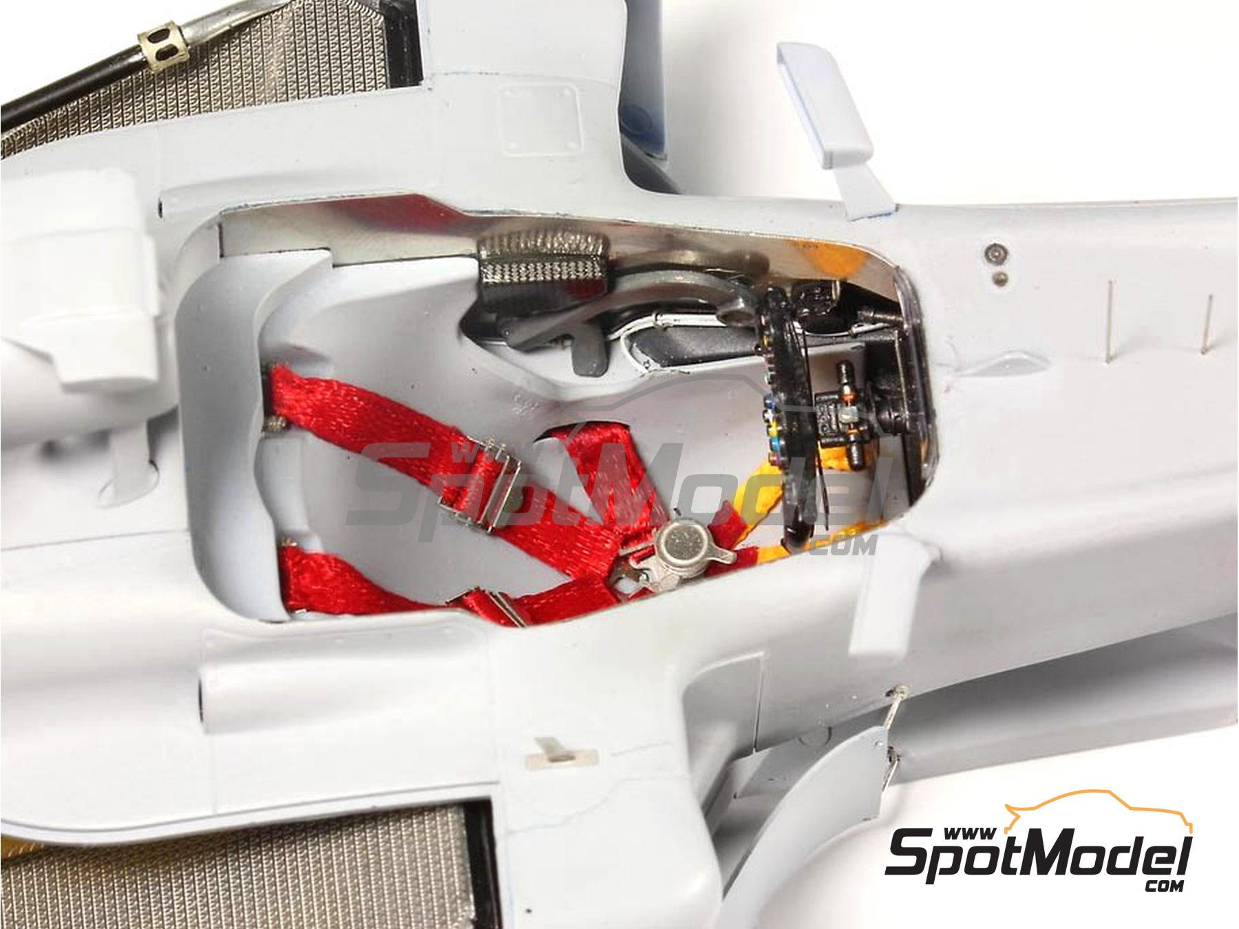 Image 9: RB Racing Renault RB6   Set de mejora y detallado en escala1/20 fabricado por Top Studio (ref.MD29014)