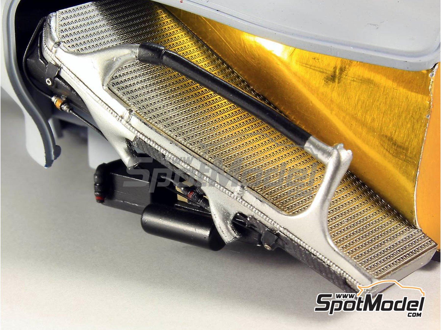 Image 12: RB Racing Renault RB6   Set de mejora y detallado en escala1/20 fabricado por Top Studio (ref.MD29014)