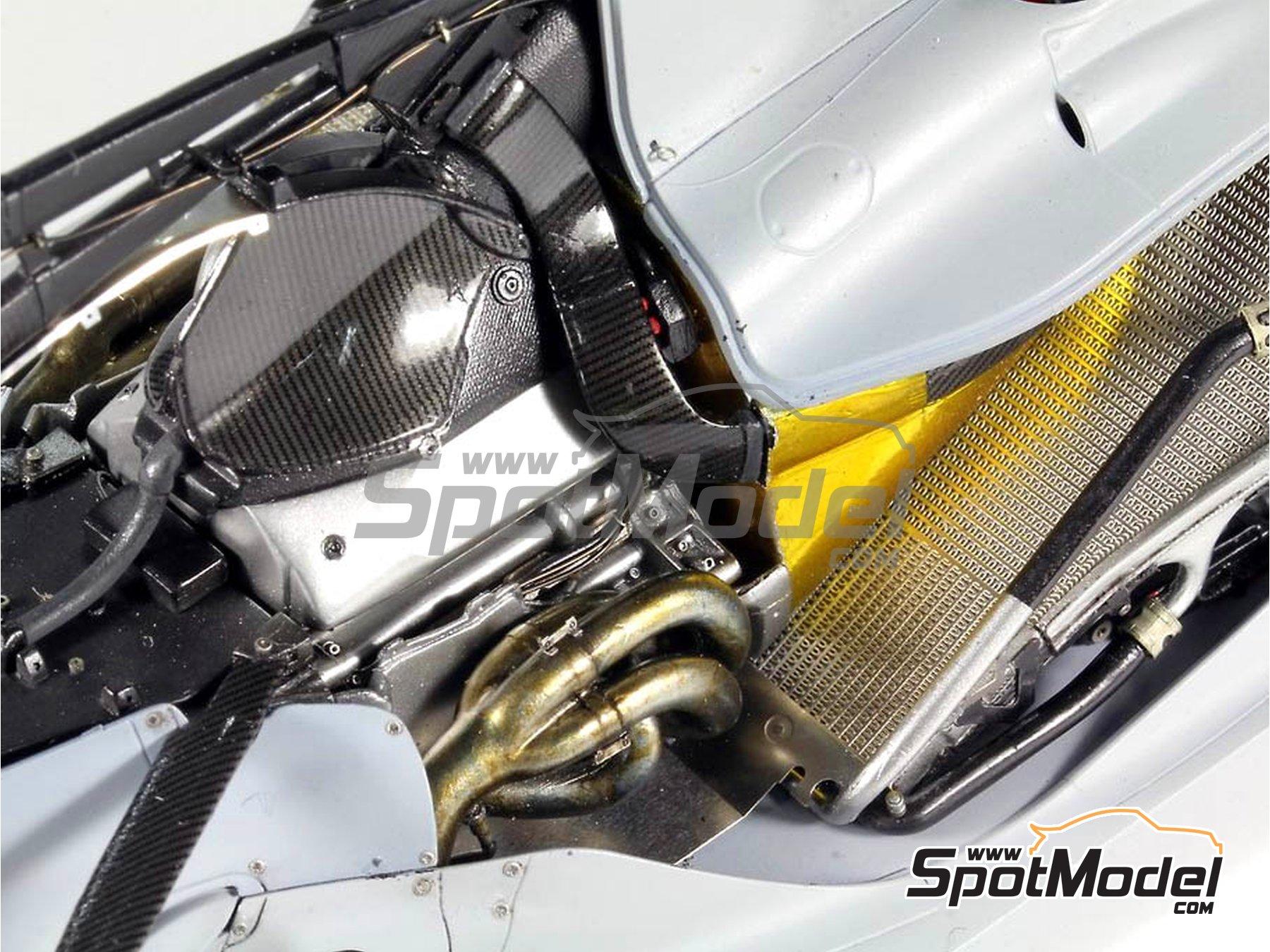 Image 13: RB Racing Renault RB6   Set de mejora y detallado en escala1/20 fabricado por Top Studio (ref.MD29014)