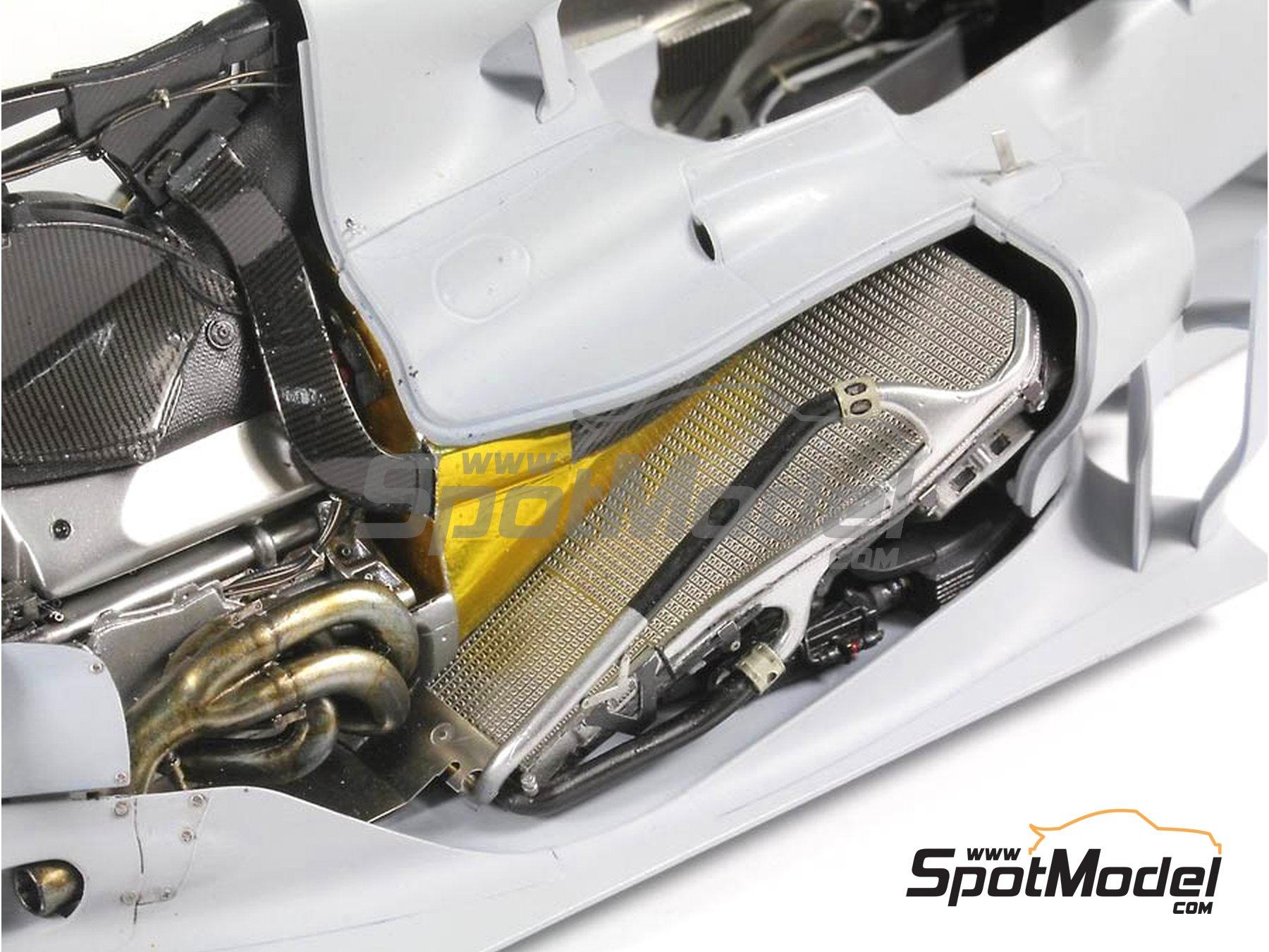 Image 15: RB Racing Renault RB6   Set de mejora y detallado en escala1/20 fabricado por Top Studio (ref.MD29014)