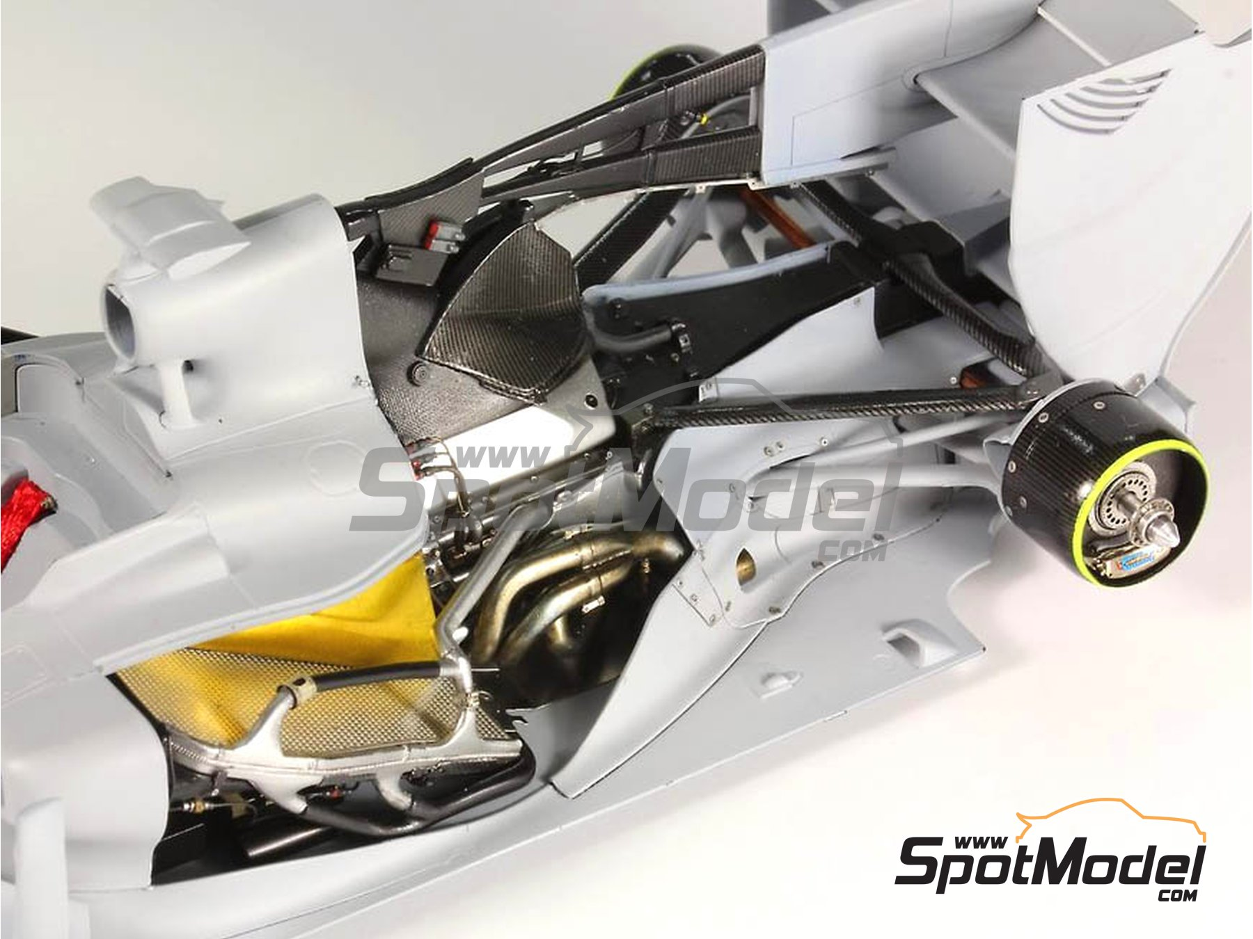 Image 16: RB Racing Renault RB6   Set de mejora y detallado en escala1/20 fabricado por Top Studio (ref.MD29014)