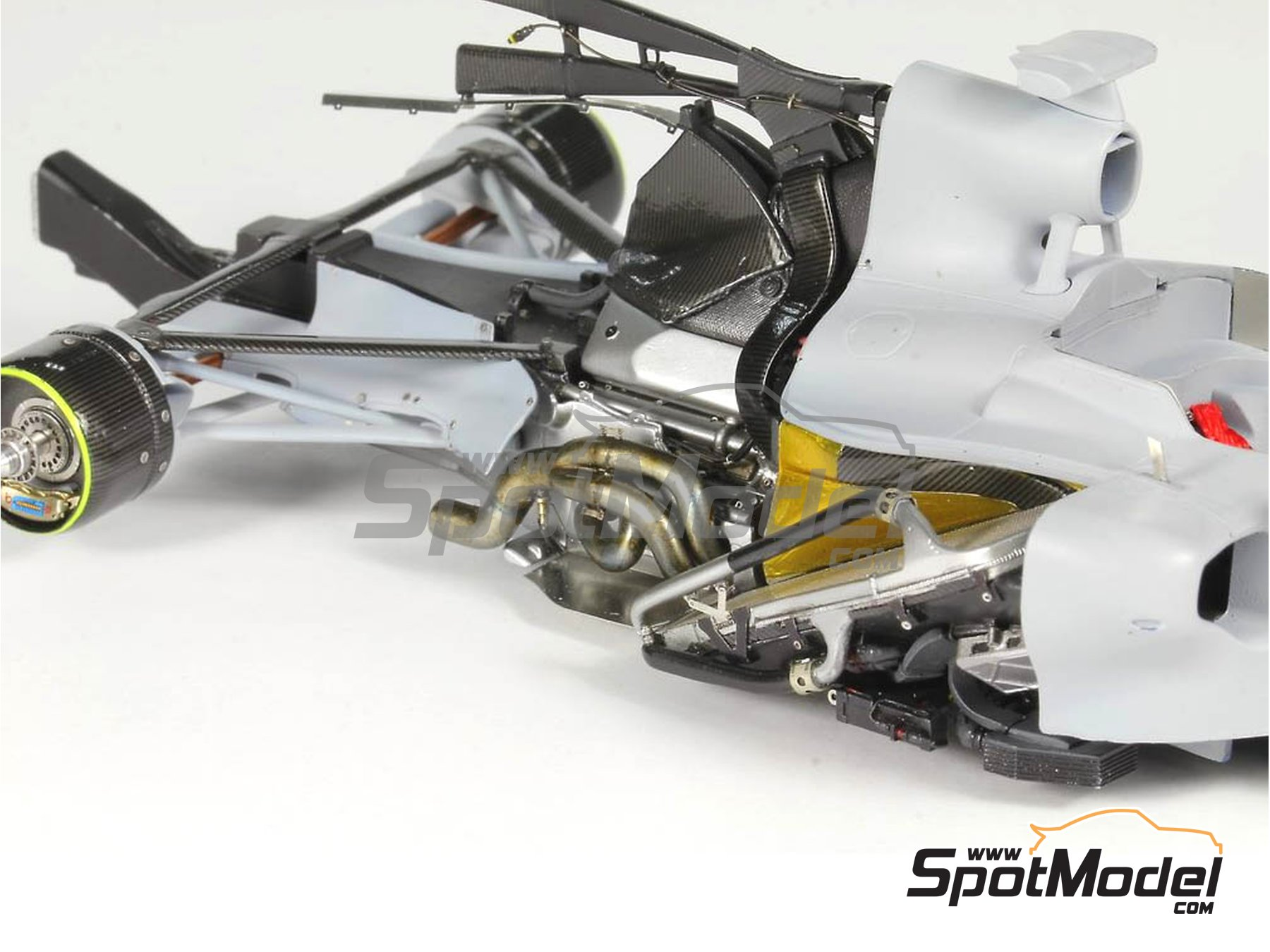 Image 17: RB Racing Renault RB6   Set de mejora y detallado en escala1/20 fabricado por Top Studio (ref.MD29014)