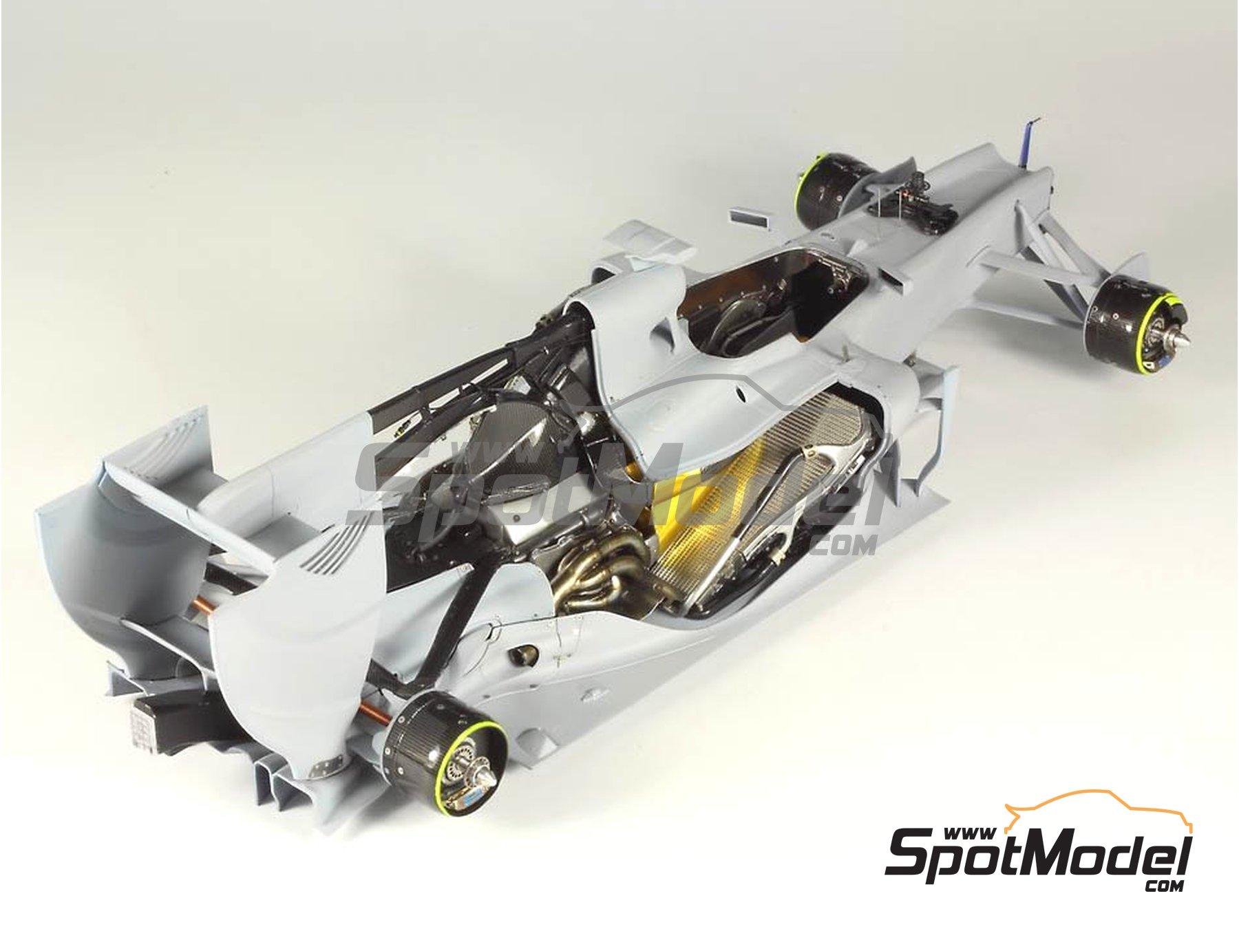 Image 20: RB Racing Renault RB6 | Set de mejora y detallado en escala1/20 fabricado por Top Studio (ref.MD29014)