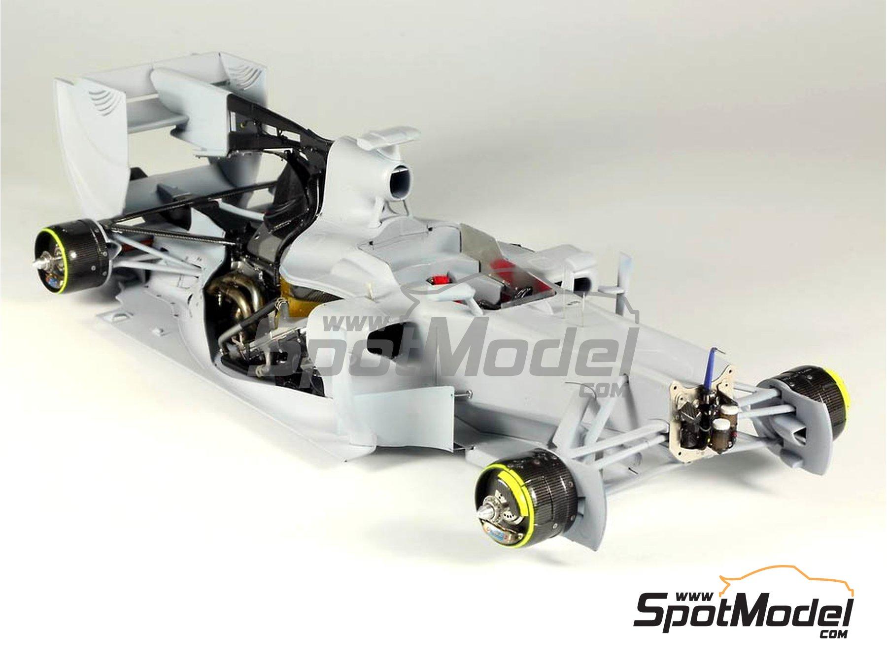 Image 21: RB Racing Renault RB6   Set de mejora y detallado en escala1/20 fabricado por Top Studio (ref.MD29014)