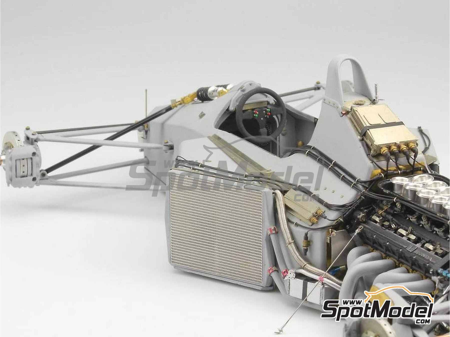Image 1: McLaren Honda MP4/6 | Set de mejora y detallado en escala1/12 fabricado por Top Studio (ref.MD29015)