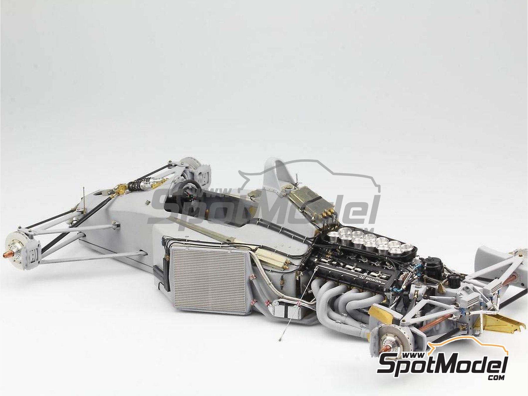 Image 9: McLaren Honda MP4/6 | Set de mejora y detallado en escala1/12 fabricado por Top Studio (ref.MD29015)