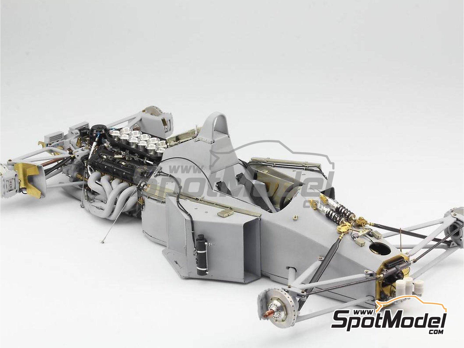Image 12: McLaren Honda MP4/6 | Set de mejora y detallado en escala1/12 fabricado por Top Studio (ref.MD29015)