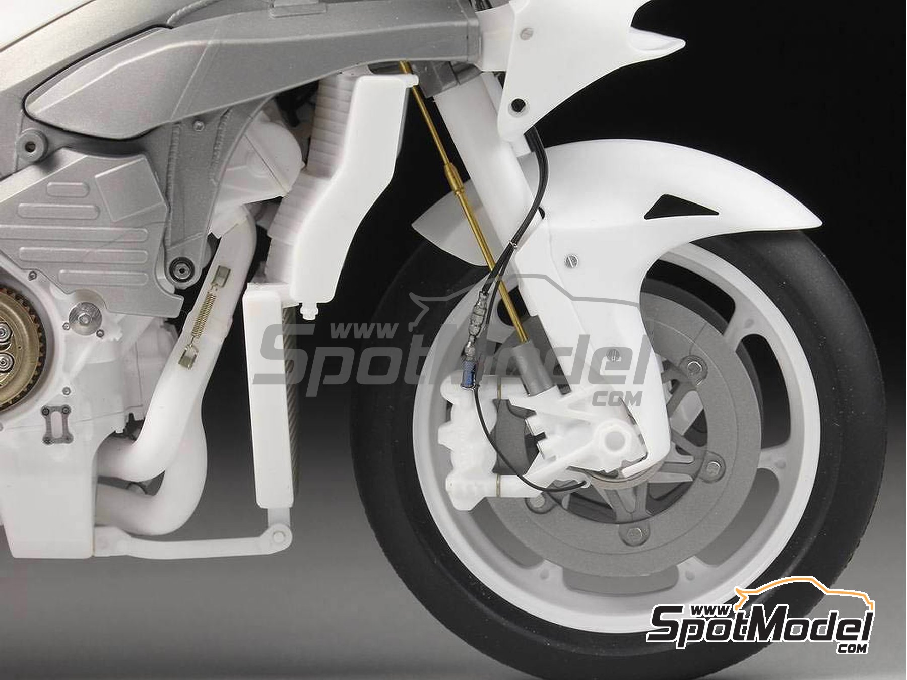 Image 4: Honda RC213V -  2014 | Detail up set in 1/12 scale manufactured by Top Studio (ref. MD29016)