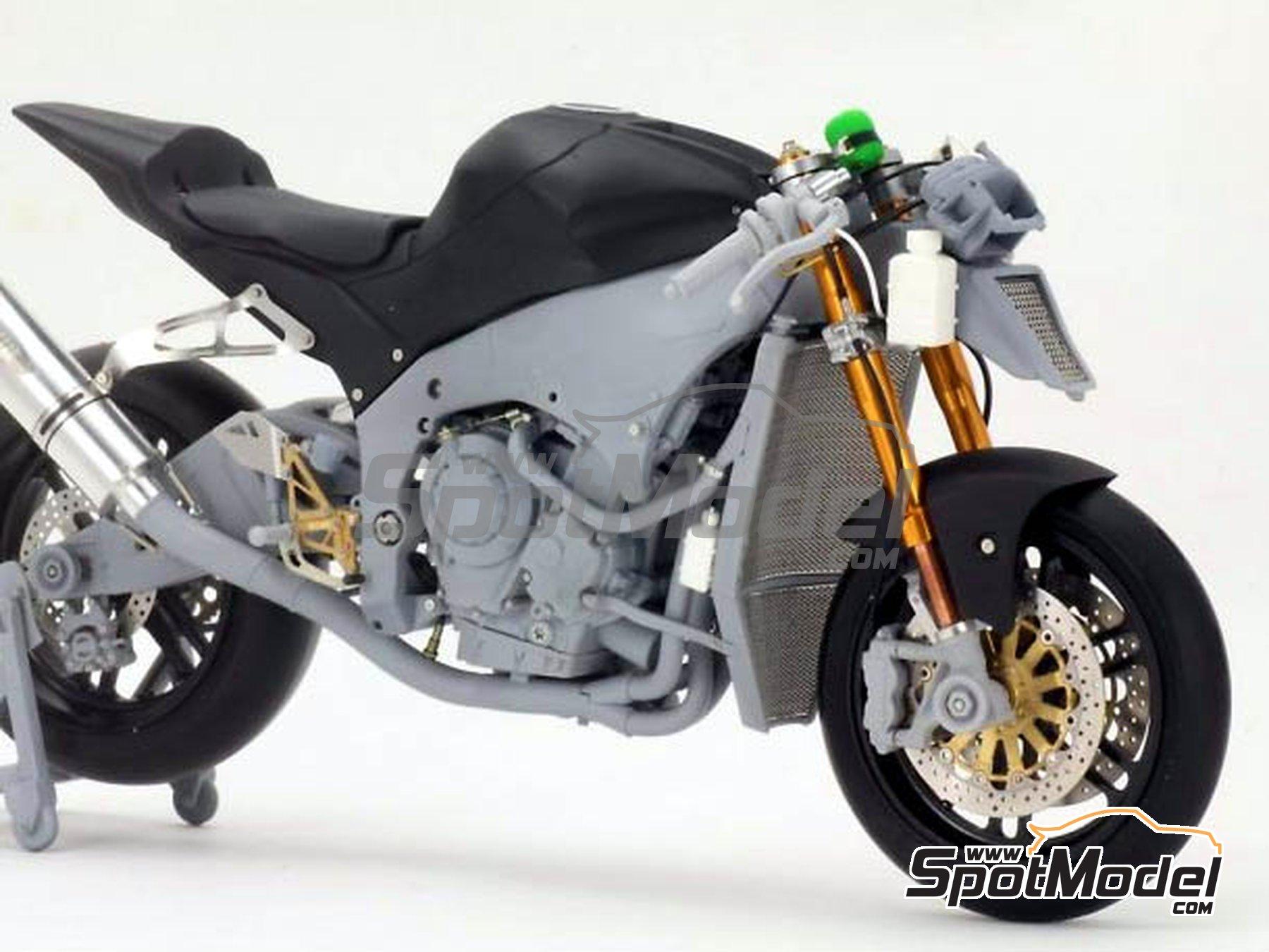 Image 1: Kawasaki ZX-10R -  2011 | Set de mejora y detallado en escala1/12 fabricado por Top Studio (ref.TD23099)