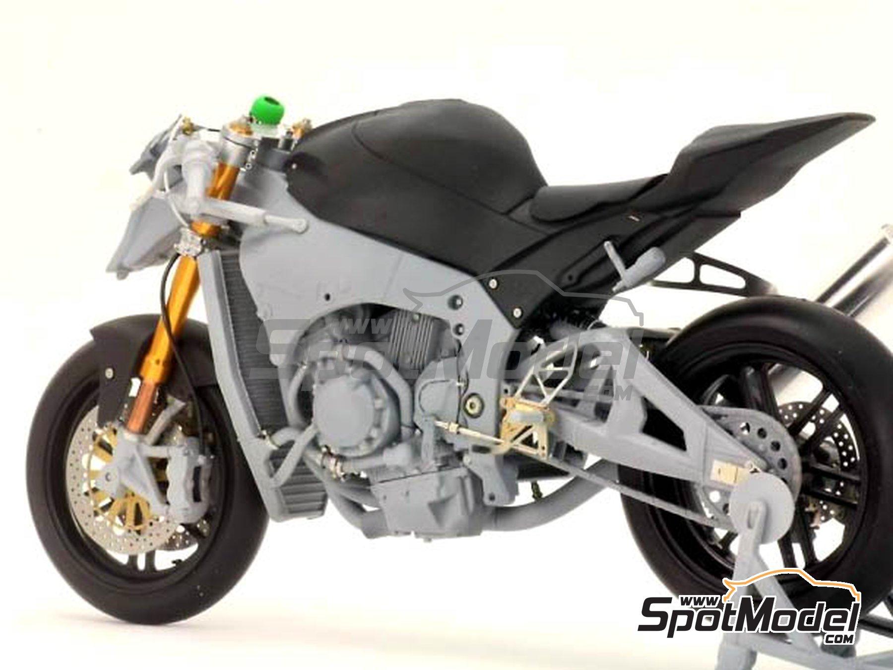 Image 2: Kawasaki ZX-10R -  2011 | Set de mejora y detallado en escala1/12 fabricado por Top Studio (ref.TD23099)