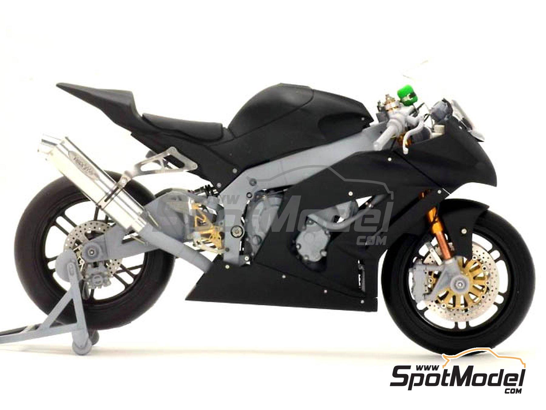 Image 13: Kawasaki ZX-10R -  2011 | Set de mejora y detallado en escala1/12 fabricado por Top Studio (ref.TD23099)