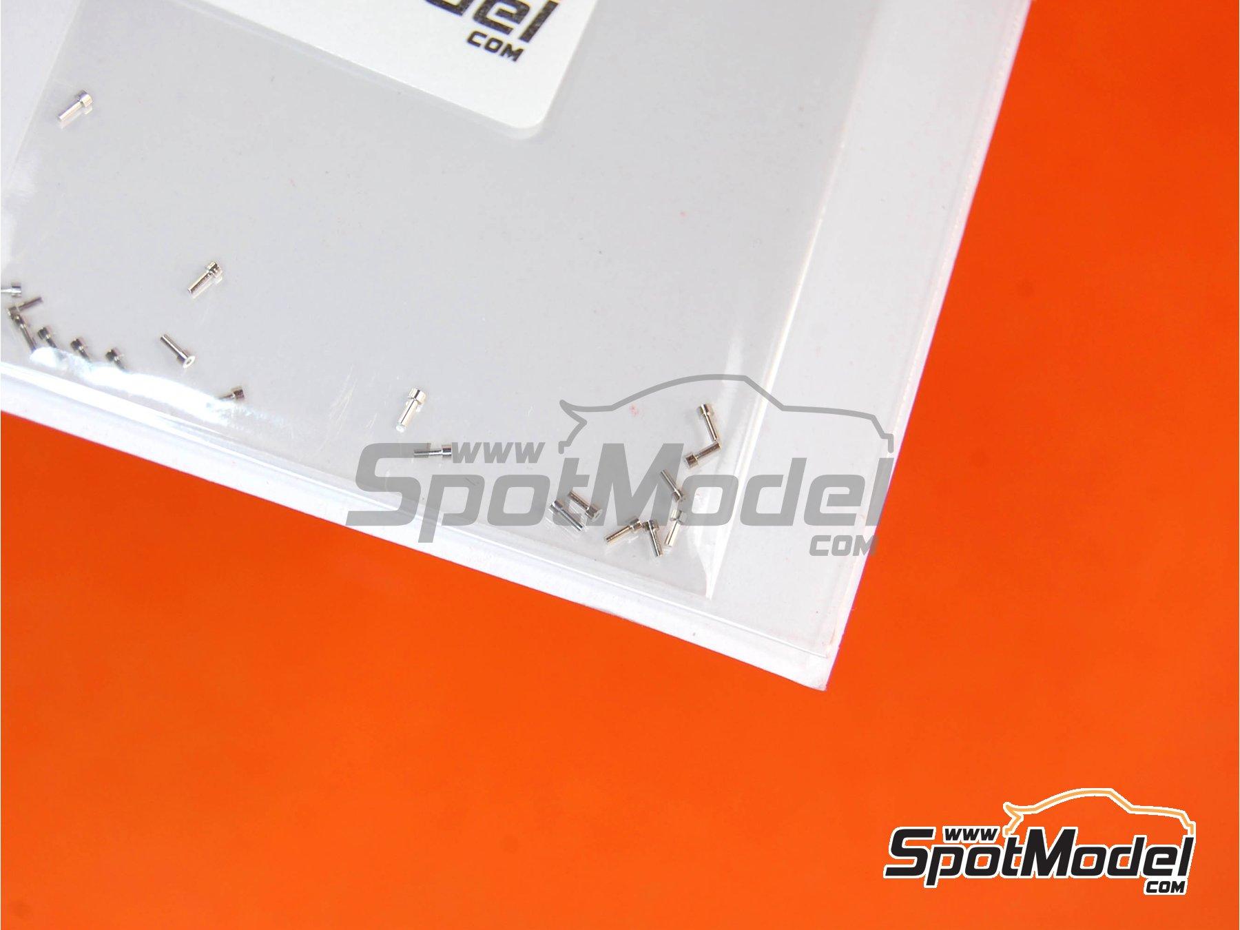 Image 3: Remaches con cabeza plana de 0.9mm | Remaches fabricado por Top Studio (ref.TD23105)