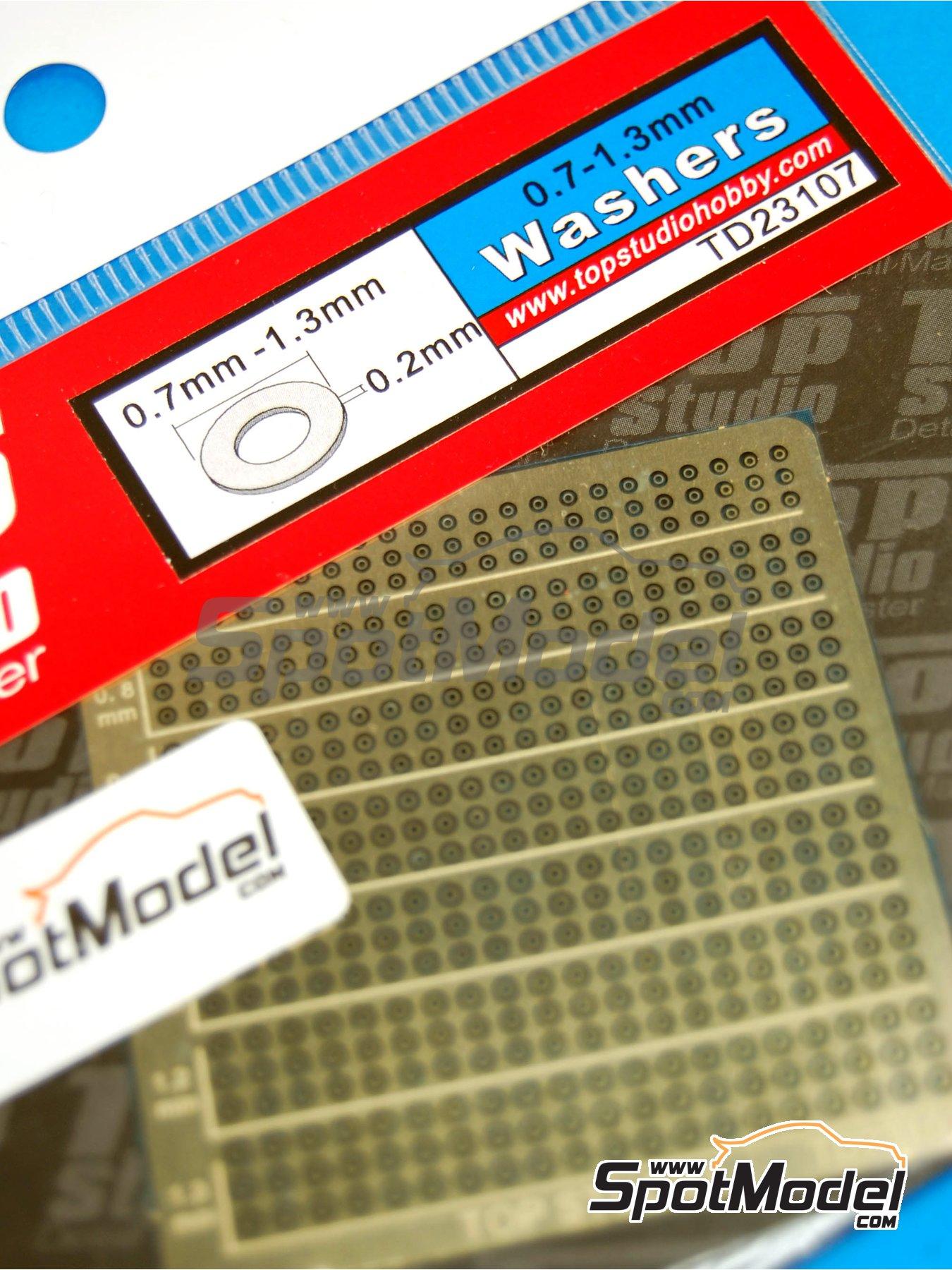 Arandelas de 0.7mm a 1.3mm | Detalle fabricado por Top Studio (ref.TD23107) image
