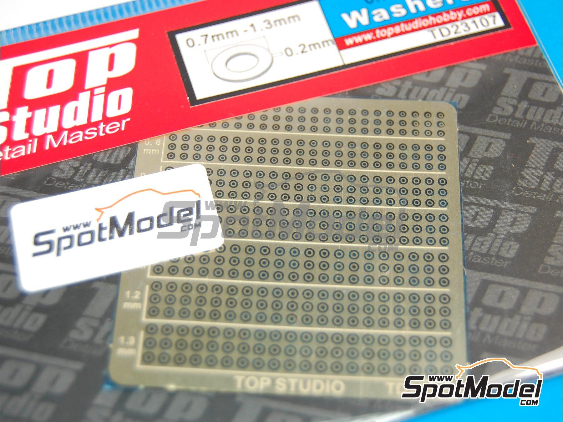 Image 2: Arandelas de 0.7mm a 1.3mm | Detalle fabricado por Top Studio (ref.TD23107)