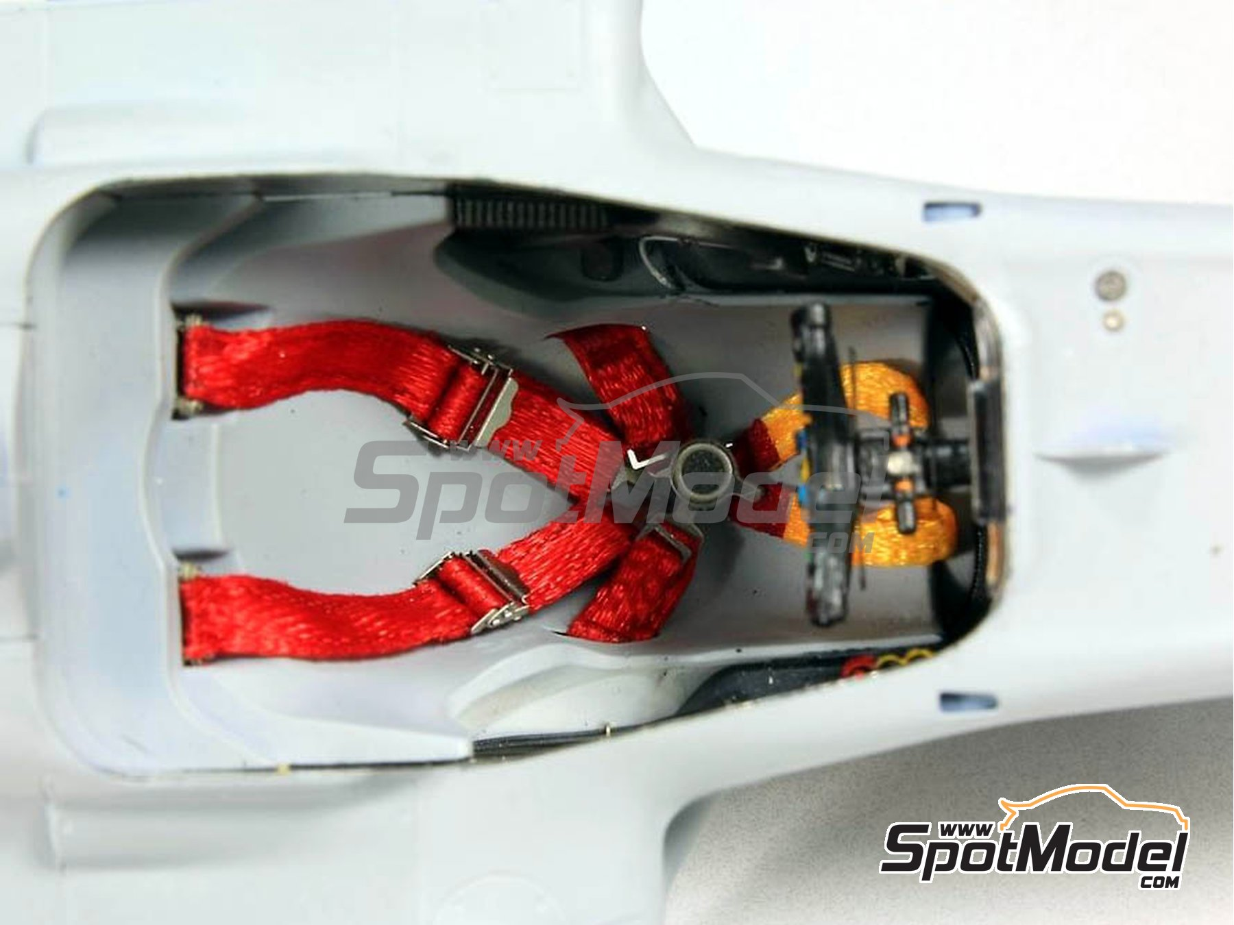 Image 5: RB Racing Renault RB6 - Cockpit | Detail in 1/20 scale manufactured by Top Studio (ref.TD23129)