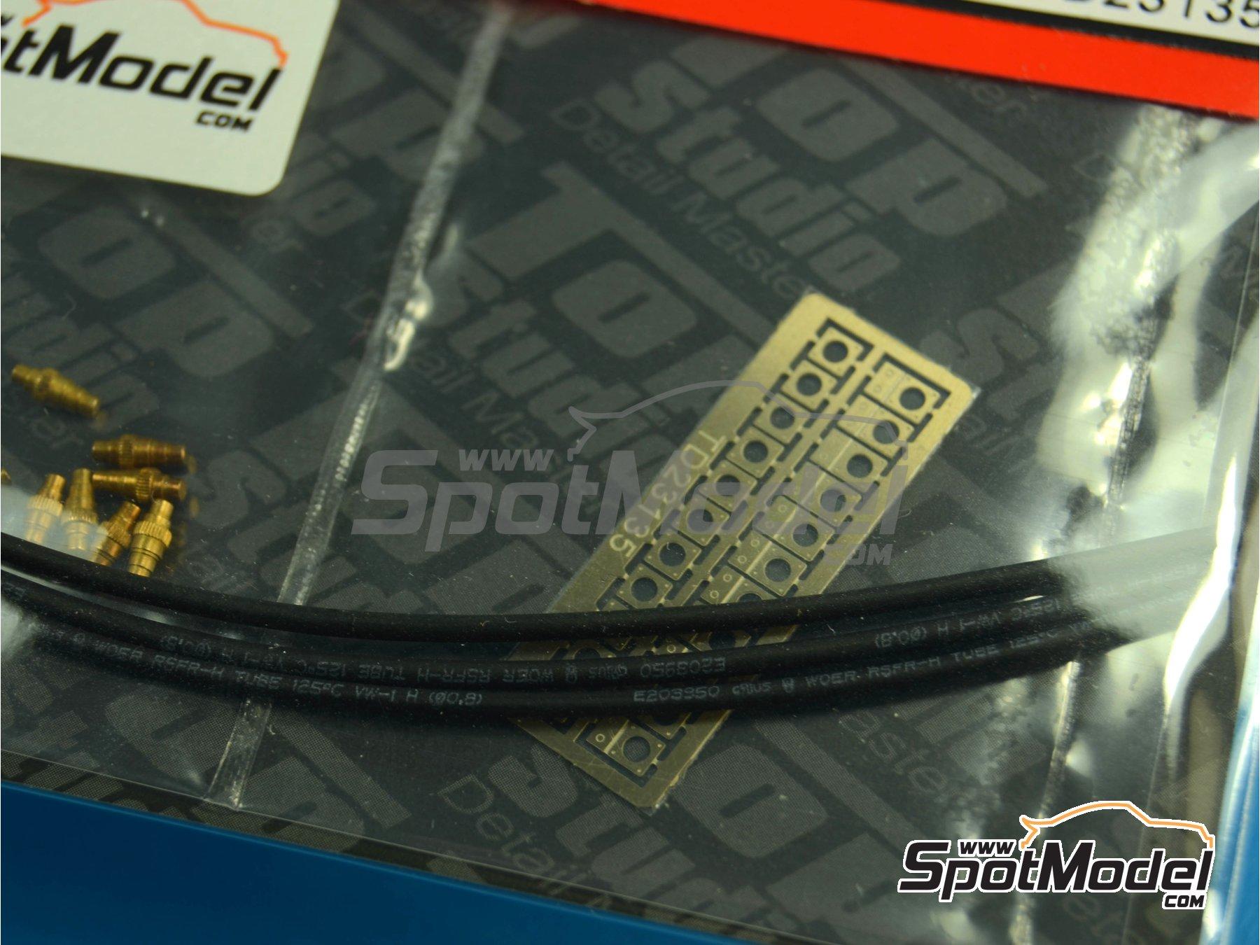 Image 6: Conectores eléctricos | Detalle en escala1/12 fabricado por Top Studio (ref.TD23135)