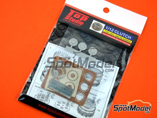 Image 5: Honda NS500 / NSR500 -  1983 - 1989 | Clutch in 1/12 scale manufactured by Top Studio (ref. TD23146)
