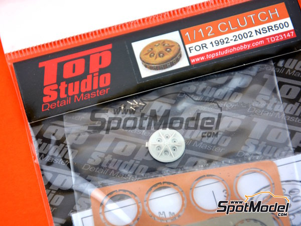 Image 1: Honda NSR500 -  1992, 1993, 1994, 1995, 1996, 1997, 1998, 1999, 2000, 2001 and 2002 | Clutch in 1/12 scale manufactured by Top Studio (ref. TD23147)