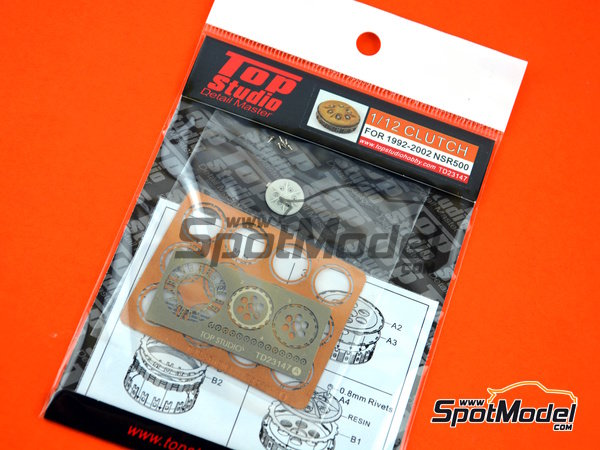 Image 3: Honda NSR500 -  1992 - 2002 | Clutch in 1/12 scale manufactured by Top Studio (ref. TD23147)