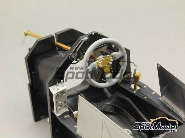 Image 4: McLaren Honda MP4/6 | Detail up set in 1/12 scale manufactured by Top Studio (ref. TD23159)