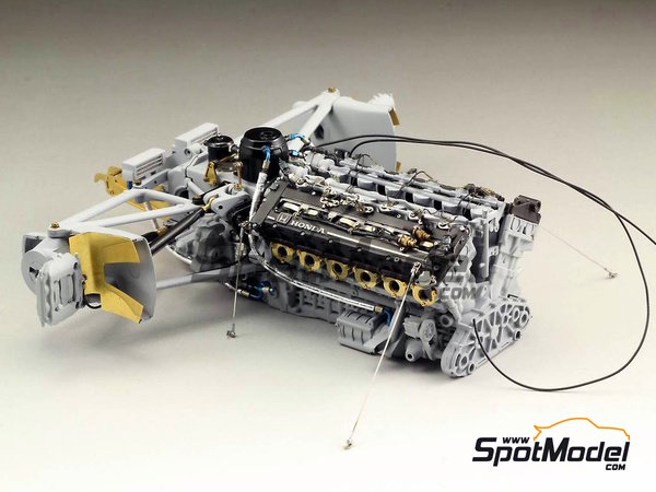 Image 2: McLaren Honda MP4/6   Detail up set in 1/12 scale manufactured by Top Studio (ref.TD23160)
