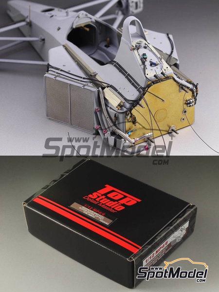 McLaren Honda MP4/6 | Set de mejora y detallado en escala1/12 fabricado por Top Studio (ref.TD23161) image