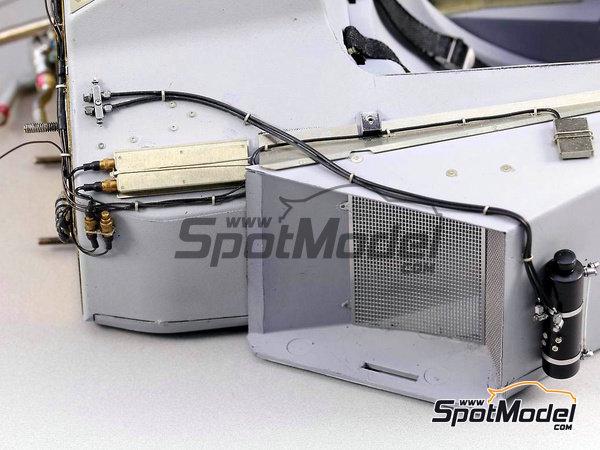 Image 3: McLaren Honda MP4/6 | Set de mejora y detallado en escala1/12 fabricado por Top Studio (ref.TD23161)