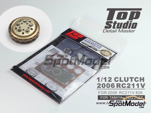 Image 1: Honda RC211V -  2006 | Clutch in 1/12 scale manufactured by Top Studio (ref. TD23167)