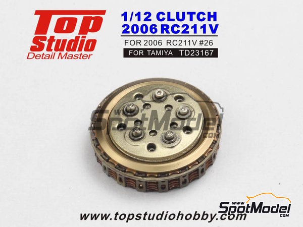 Image 2: Honda RC211V -  2006 | Clutch in 1/12 scale manufactured by Top Studio (ref. TD23167)