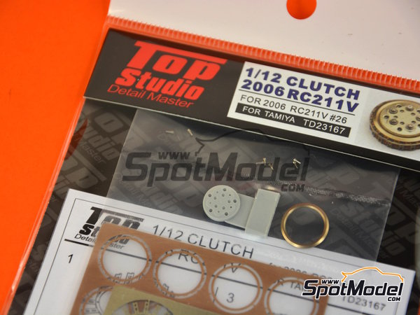 Image 4: Honda RC211V -  2006 | Clutch in 1/12 scale manufactured by Top Studio (ref. TD23167)