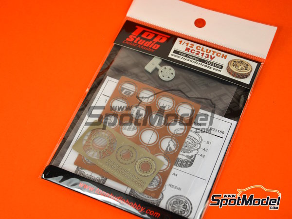 Image 4: Honda RC213V | Clutch in 1/12 scale manufactured by Top Studio (ref. TD23169)