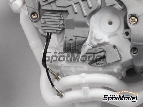 Image 3: Honda RC213V | Oxygen sensor in 1/12 scale manufactured by Top Studio (ref.TD23170)