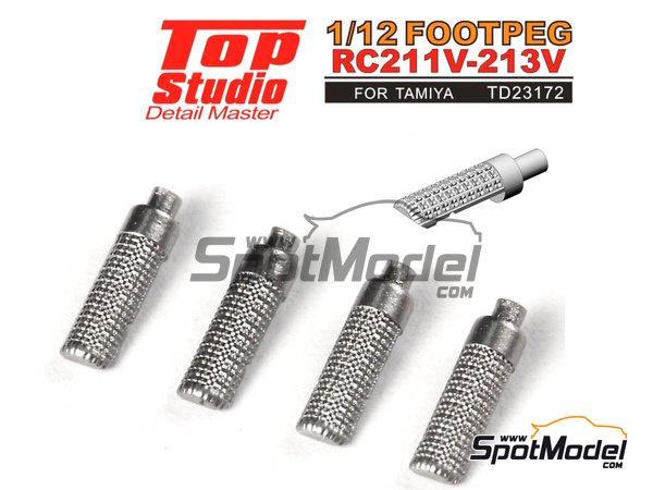 Image 1: Honda RC211V RC213V | Footpeg in 1/12 scale manufactured by Top Studio (ref.TD23172)