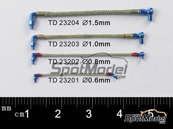 Image 2: Cable trenzado de 1.0mm | Tubo fabricado por Top Studio (ref.TD23203)