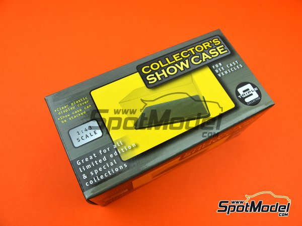 Image 10: Collector's show case | Display case in 1/43 scale manufactured by Triple9 Collection (ref. T9-43000)