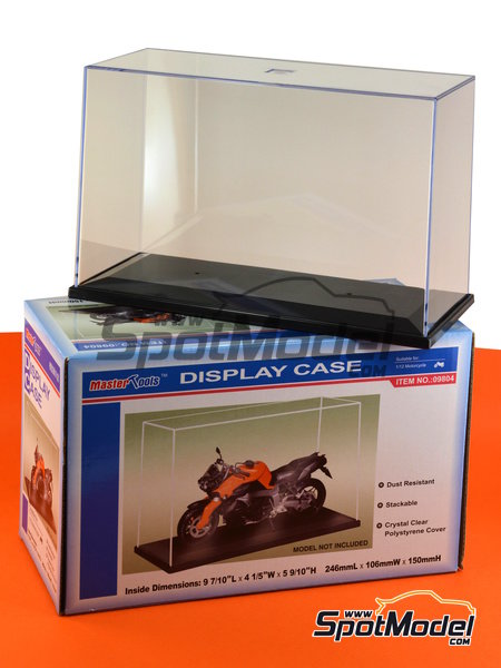 Display case for 1/12 scale bikes | Display case in 1/12 scale manufactured by Trumpeter (ref. 09804) image