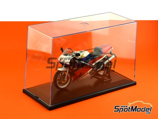 Image 4: Display case for 1/12 scale bikes | Display case in 1/12 scale manufactured by Trumpeter (ref. 09804)