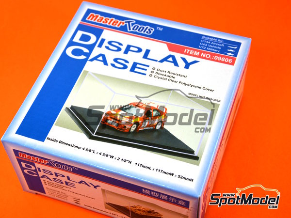 Image 1: Display case | Display case in 1/43 scale manufactured by Trumpeter (ref. 09806)