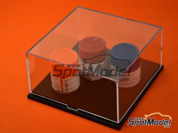 Image 2: Display case | Display case in 1/43 scale manufactured by Trumpeter (ref. 09806)