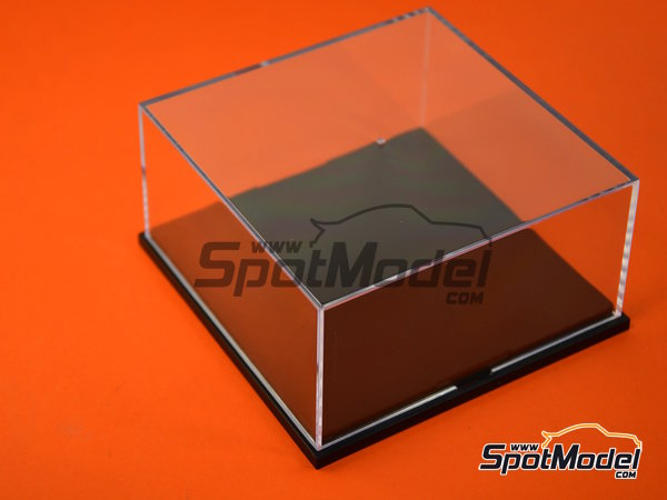 Image 5: Display case | Display case in 1/43 scale manufactured by Trumpeter (ref. 09806)