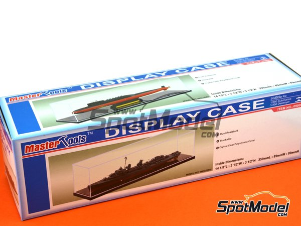Image 1: Display case | Display case manufactured by Trumpeter (ref.09809)