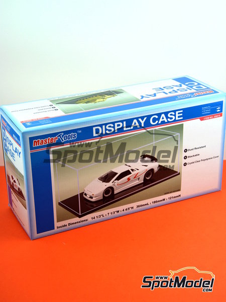 Display case for 1/20 and 1/18 scale cars | Display case in 1/20 scale manufactured by Trumpeter (ref. 09815) image