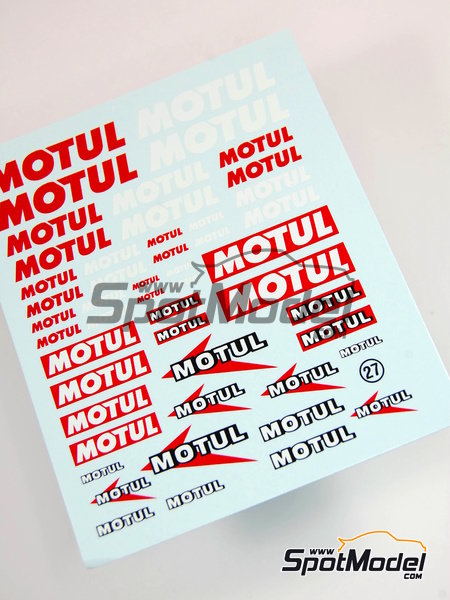 Motul | Logotypes manufactured by Virages (ref. VIR-027) image