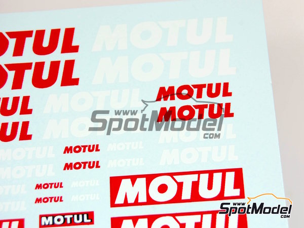Image 1: Motul | Logotypes manufactured by Virages (ref. VIR-027)