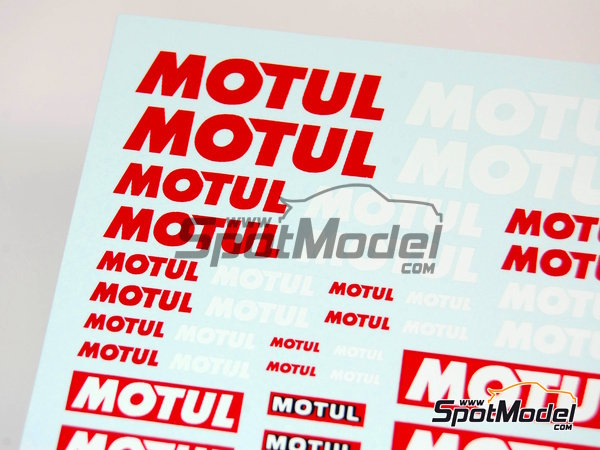 Image 2: Motul | Logotypes manufactured by Virages (ref. VIR-027)
