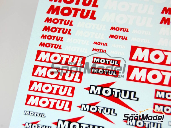 Image 3: Motul | Logotypes manufactured by Virages (ref. VIR-027)