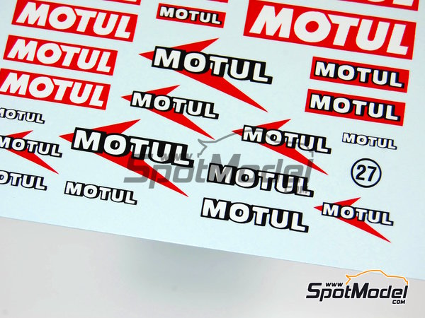 Image 4: Motul | Logotypes manufactured by Virages (ref. VIR-027)