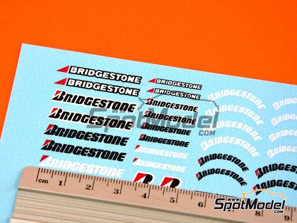 Image 4: Avon Bridgestone | Logotipos en escala1/24 fabricado por Virages (ref.VIR-182)