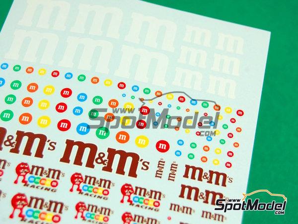 Image 2: M&Ms racing   Logotipos fabricado por Virages (ref.VIR-254)