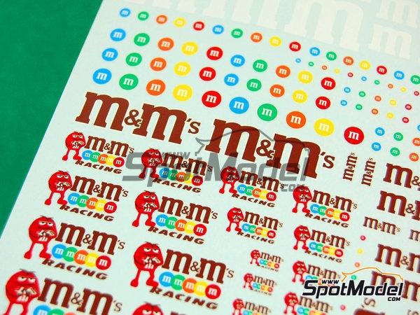 Image 3: M&Ms racing   Logotipos fabricado por Virages (ref.VIR-254)